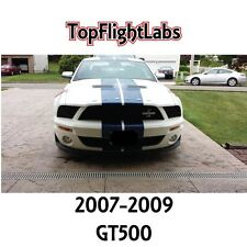 2007- 2009 Shelby GT500 Smoked Headlight Covers.