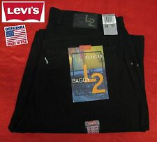 NEW VINTAGE LEVI'S LEVIS L2 BAGGY FIT PLEATED JEANS PANTS USA RARE 36x34