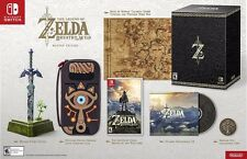 Legend of Zelda Breath Of The Wild Master Edition (Nintendo Switch) NEW PRESALE