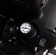 Triumph Classics Oil Temp Gauge Fahrenheit Black Street Twin T120 T100 Thruxton