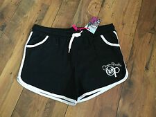 Casual Black Jersey Shorts/hot pants - Plus Size 18 - BNWT Stretch - Beach/hols