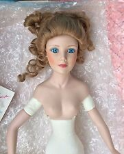 """1990 NUDE Alexander 21"""" *Carnival In Venice* Porcelain Doll + stand LE 75/2500"""