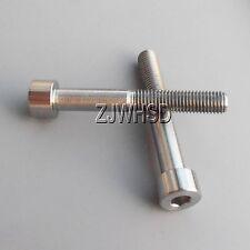 2pcs M7 x 50 Titanium Ti Screw Bolt Allen hex Socket Cap head / Aerospace Grade