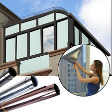 Screens Self Adhesive Film Reflective Mirror Window Anti UV Heat Protection Foil