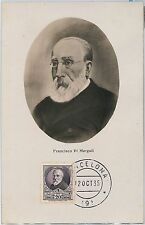 57366 -  SPAIN - POSTAL HISTORY: MAXIMUM CARD 1935 - POLITICS Pi i Margall