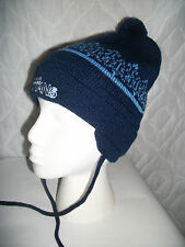 TENNESSEE TITANS REEBOK NFL Toddler Winter Pom Pom Knit Cap Hat with ear flaps