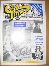 CARD TIMES MAGAZINE FORMERLY CIGARETTE CARD MONTHLY No 102 JULY / AUGUST 1998