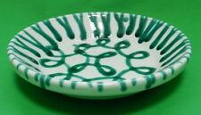 ABVERKAUF Gmundner Keramik grün geflammt Reifschüssel ohne Henkel RSOH20