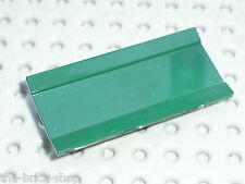 LEGO INDIANA JONES DkGreen Hinge 6 x 3 Spoiler Panel ref 2440 / Set  7626