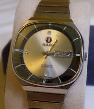 Rado Television Dial 25J Automatic Watch Chinese Characters Day Date, For Repair