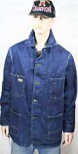 Vtg OSH KOSH B'Gosh 42 L Denim Work Jean Jacket Chore USA Sanforized Union Barn