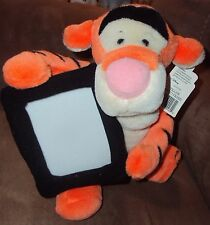 "TIgger Walt Disney World 10"" Stuffed Plush tiger with Photo Picture Frame Pooh"