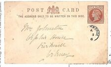 BD206 1886 GB Scotland Inverness Fort George Orkney Postcard{samwells-covers}PTS