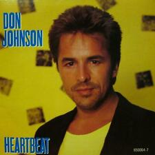 "Don Johnson(7"" Vinyl P/S)Heartbeat-Epic-650064 7-UK-Ex/NM"