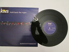 KWS & THE TRAMMPS - HOLD BACK THE NIGHT  -12in Ltd Edition Single -1992 UK