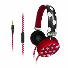Minnie Mouse Fashion Over-The-Ear Headphones with Over-The-Ear headphones with V