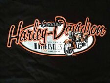 Harley Davidson 1998 Black Genuine Shirt Nwot Men's Large