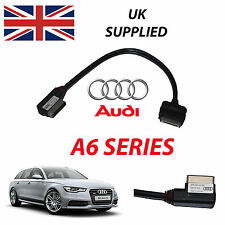 AUDI A6 AVANT 2014 AMI MMI 4F0051510R iPhone iPod Audio Video Cable