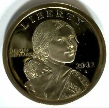 2002 -S SACAGAWEA Golden Dollar Native American PROOF Coin US Mint MADE IN USA