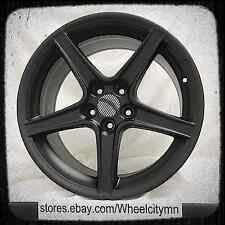 18 inch matte black Ford Mustang Saleen OE replica rims staggered 18x9 18x10