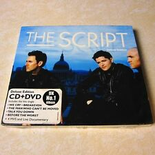 The Script 2009 HONG KONG CD+DVD Deluxe Edition NEW Region Code: 0/ALL RARE #128