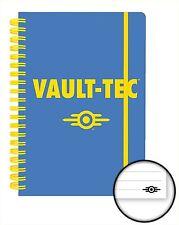 Oficial Fallout 4 portátil Forrado A5 Bloc de notas Juegos Vault Tec Novedad Regalo