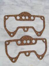 2 CORK ROCKER BOX GASKETS-TRIUMPH 3TA,5TA,T100,DAYTONA