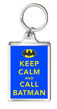 KEEP CALM AND CALL BATMAN KEYRING NEW LLAVERO
