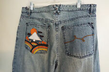 Men's Lrg G Roots and Equipment Lr Geans Denim Jeans 38 X 32 Pre-Owned