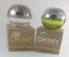DKNY Empty Perfume Glass Bottle Be Delicious 100ml Green Apple Spray Collectible
