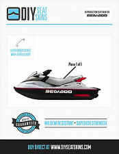 XP RX DI SEA DOO SILVER Seat Skin Cover 99 00 01 02 03