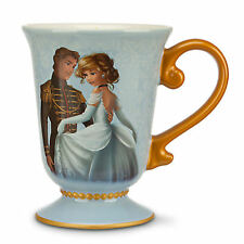 DISNEY DESIGNER FAIRYTALE COUPLE CINDERELLA & PRINCE CHARMING Mug New PRINCESS