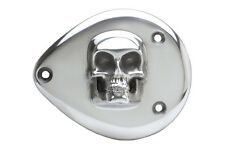 Skull S & S Style Air Cleaner Cover Polished For Harley-Davidson