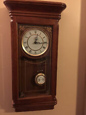 "Beautiful 27"" Tall - Sunbeam Westminster Chime Pendulum Quarts Wall Clock R=A"