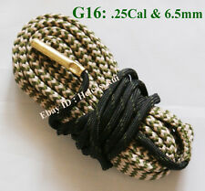 New Bore Snake Cleaning fit .25 Cal .264 & 6.5mm Boresnake Shotgun Rifle Cleaner