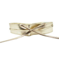 Womens Ladies Buckle Bow /Wide Stretch Elastic Corset Waist Belt Dress Waistband