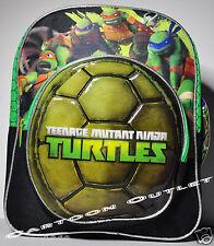 "TEENAGE MUTANT NINJA TURTLES SMALL BACKPACK 12"" TMNT BOYS TOTE TODDLER SMALL NWT"
