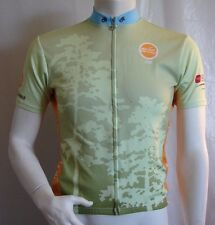 Champ Sys Cycling Bike Jersey Adult Size Large Zippered Front Rear Pockets