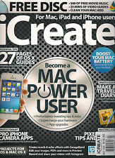 iCREATE Mac iPad iPhone Issue 124 Performance Boost Speed up your MAC CD DISC
