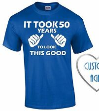It Took 50 Years To Look Like This T-SHIRT 50th Birthday Gift Made In 1965 Tee