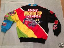 JEFF GORDON 1998 WINSTON CHAMPION RAINBOW JACKET DUPONT SMALL MINT new w/ tags