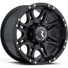 17 Black Raceline Raptor Wheels 8x165.1 8 Lug Chevy GMC 2500HD Dodge Ram 2500