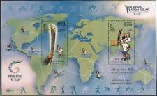Queen's Baton Relay XIX Commonwealth Games. MINIATURE SHEET(1 NO) -MNH