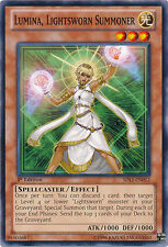 3x Yugioh SDLI-EN012 Lumina, Lightsworn Summoner Common Card