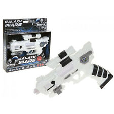 "9.5"" SPACE GUN SOUND AND LIGHT GALAXY WARS FUN KIDS PLAY FANCY XMAS ACTION TOYS"