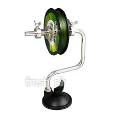 Latest Fishing Line Reel Spooler Winder Spool System Tackle Tool Suction Cup