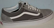 MEN'S VANS OLD SKOOL SURPLUES FROST/GRAY/PEWTER SOLE ATHLETIC SHOES SIZE 7.5