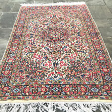 Semi Antique Persian Lavar Kerman Area Rug  5' x 7' 9""