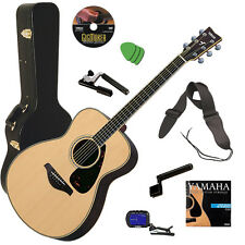 Yamaha FS730S Acoustic Guitar - Natural STAGE ESSENTIALS BUNDLE