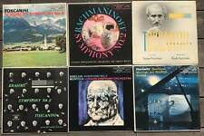 Lot of 6 RCA Mono Shaded Dog Red Seal LP Records Brahms Sibelius Horowitz etc